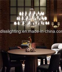 Acrílico de alta calidad para la araña de luces de LED blanco Comedor