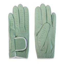 Voller farbiger Cabretta Golf-Handschuh