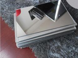 Prix compétitif populaires de la vente en gros de 3 mm 2 mm 4*8FT Miroir or/argent feuille acrylique