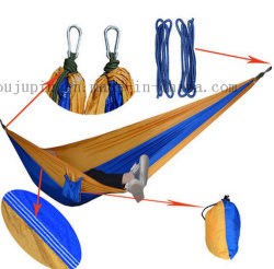 OEM heißer Verkauf Nylon Outdoor Fallschirm Camping Bett Hängematte
