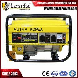 generator van de Benzine van de Benzine van de Macht van 2500W 2.5kw 2.5kVA Astra Korea de Draagbare