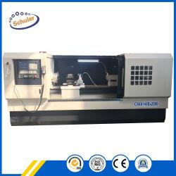 Spitzenmetallhorizontale flaches Bett CNC-Drehbank Cak6140 Cak6150