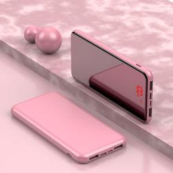 источник питания для мобильных устройств наружного зеркала заднего вида Fruit-Colored 10000mAh для индивидуального логотипа
