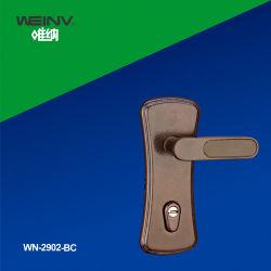 Aleación de zinc balseta empuñadura de puerta Bloqueo de 2902