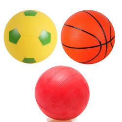 Auditoria BSCI em branco ou 1 cores ou logotipo colorido impressos diferentes tamanhos Eco-Friendly Kids Brinquedo Impresso Personalizado Mini Bola de desportos de vinil