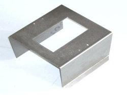 習慣はアルミニウムアンプPCB脱熱器機構インバーター箱突き出た