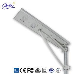 40W Luz Rua Solar Iluminação de exterior de LED com bateria de lítio