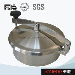 Aço inoxidável Ronda Sanitárias Manway do tanque de fecho da tampa de porta (JO-ML1001)