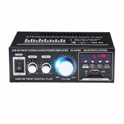 12V/220V 400W 2 CH amplificateur hi-fi stéréo de voiture Bluetooth SD/USB d'alimentation de radio FM stéréo amplificateur Amplificateur d'accueil audio de voiture