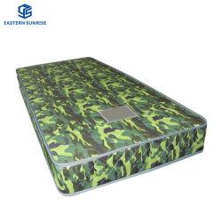 Soldat-kampierende Militärarmee-Gebrauch-Sprung-Schaumgummi-weiche bequeme Matratze