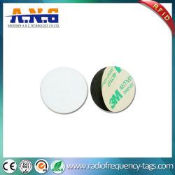 La Ronda de PVC impermeable HF RFID pasiva de la etiqueta de la Moneda de la etiqueta de token