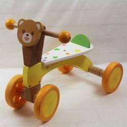Tricycle Bébé en bois, de nouveaux Kid Tricycle en bois, marchette pour bébés