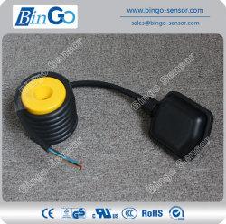 PVC/Rubber Schakelaar van het Niveau van de Vlotter van de Kabel pp de Zwarte voor Chemische Vloeistof