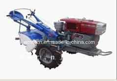 La Chine Mini carburant Diesel à deux roues tenue en main de marcher le tracteur