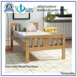 2019 Venda Quente Cama sólidos de madeira de carvalho quarto de cama de casal cama de madeira mobiliário confortável cama forte