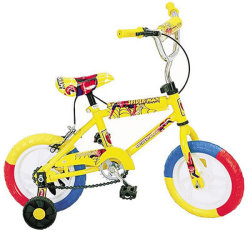 Les enfants Vélo enfant Vélo Kid Safe Cycling Bike 18 Inches-Yellow