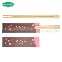 Le bambou Twins Choosticks avec manchon de papier