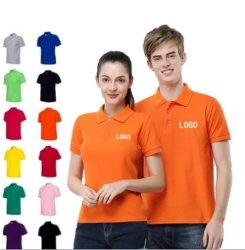 Классическая футболка повседневная одежда хлопок полиэстер разработке нестандартного материала для печати OEM Service пустым одежды рубашки поло