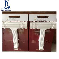 Plastica materiali da costruzione PVC Rain Gutter Water Collector System PVC Raccordo per tubi