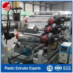 Machines de traitement de film plastique PP de l'extrudeuse