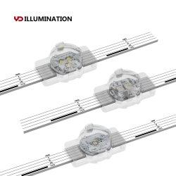preço de fábrica de pixel programável RGB LED de luz de iluminação da paisagem de baixa tensão