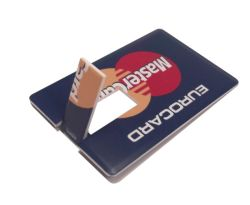 Полноцветная печать визитных карточек кредитную карту USB
