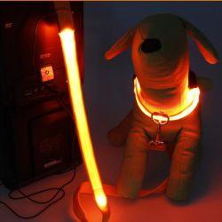 Нейлоновые лямке электрический светодиод мигает собака Узду снов USB аккумулятор