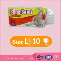 安い良質の眠い卸し売り使い捨て可能な赤ん坊のおむつ(製造業者)