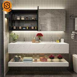 Montage mural étanche Hotel salle de Bain lavabo armoire avec miroir