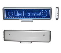Pannello per messaggi a colori singolo con schermo da tavolo LED Apple Wind ultra sottile