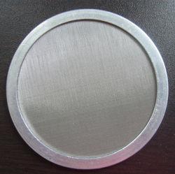 Pano de fio nas telas do extrusor/Extruder-Screen Packs/filtros de tela de extrusão de plástico