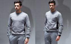 Moins cher de haute qualité personnalisée en usine des hommes français Terry coton Pull