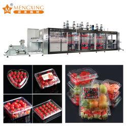 Conteneur de fruits machine de thermoformage Pet Fabrication directe Fast Food Box oeuf Fruits machine de thermoformage Biscuit Bac en plastique de prix des machines de formage sous vide