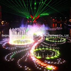 Proyecto de la ciudad de Phoenix las luces y música de Trevi bailando el agua mostrar