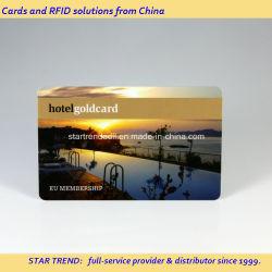 Professionelle Chipkarte Aus Kunststoff Für Türsteuerung, Zugangskontrolle, RFID-Kartenlieferant in China