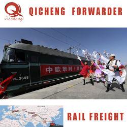Chemin de fer de la Chine d'expédition transitaire de la logistique du transport ferroviaire de fret de train à l'Europe