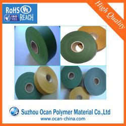 Arbre de Noël plastique PVC de couleur verte Matériau du film