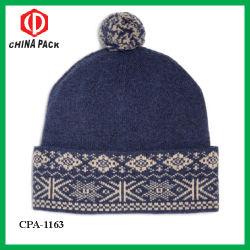 Dama Caliente 100% Lana Bobble Hat-1163 (CPA)