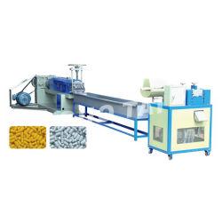Película de LDPE, HDPE de residuos de plástico reciclado Granulator Bolsa tejida máquina extrusora