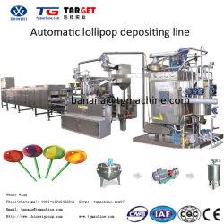 Bonbons Lollipop automatique complet de la machinerie et de la production
