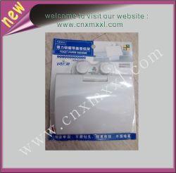 Concha de plástico de embalaje de colgador de papel higiénico