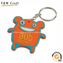 Adorável e engraçado Personalize cabides de chave de PVC YM1116