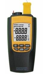 Infrarrojos de temperatura digital y termopar de metro (V8090)
