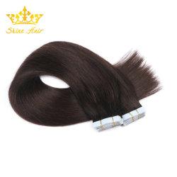 100% нового человеческого волоса с лентой в волосы добавочный номер