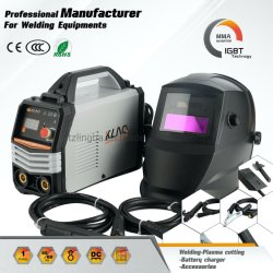 Portable MMA Conjunto soldador (capacete de soldagem+)