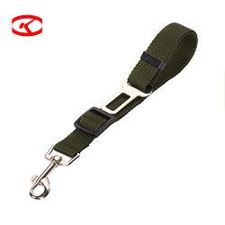2 pacchetti del veicolo di scatto resistente variopinto di nylon del poliestere del fermo di sicurezza dell'animale domestico del gatto dell'automobile del cane della cintura di sicurezza durevole registrabile