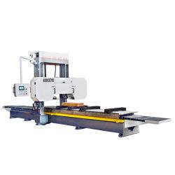 A banda de corte de madeira CNC Automático viu a máquina com o carro de log para log pranchas/madeira serrada Cortar