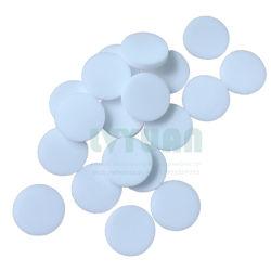 Dimensioni Personalizzate 10 20 30 40 50 Micron Di Materiale Poroso Sinterizzato Pe Filtro Rotondo Per Porta Di Sfiato Della Batteria Acida