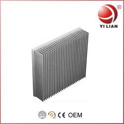 Большой алюминиевый радиатор системы охлаждения охладителя ребер радиатора на усилитель под руководством
