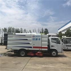 Speciale Voertuigen van de Vrachtwagen van de Veger van de Weg van Dongfeng de Schoonmakende
